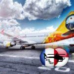 La low cost FastJet se pose en Ouganda